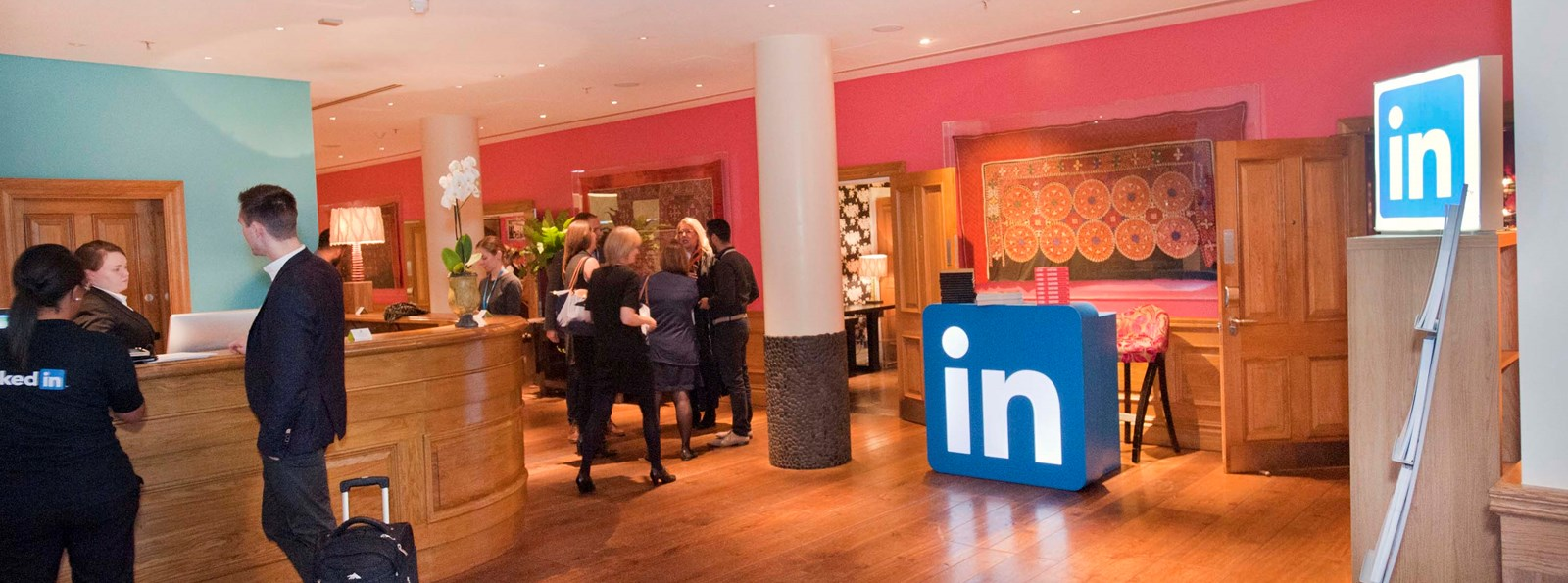 LinkedIn Tech Connect Event at Soho Hotel