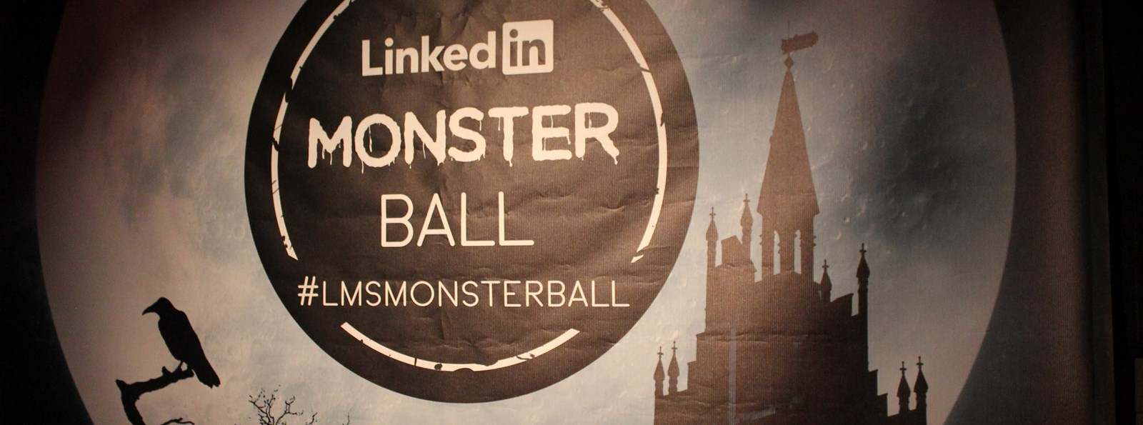 An Eerie event for LinkedIn's Halloween Monster Ball